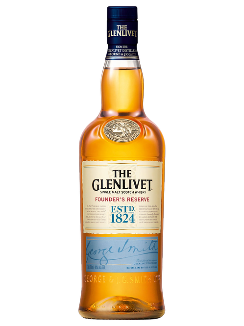 The Glenlivet Founder's Reserve Scotch Whisky 700ml