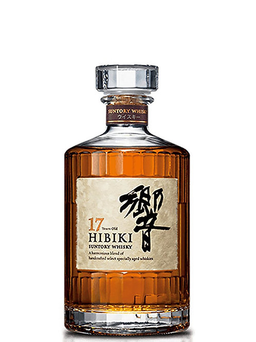 Hibiki 17 Year Old Blended Japanese Whisky 700ml