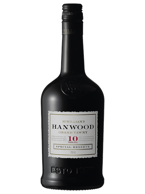 McWilliam's Hanwood Estate 10 Year Old Grand Tawny
