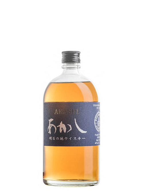 Akashi White Oak Akashi Blue Japanese Blended Whisky 700ml