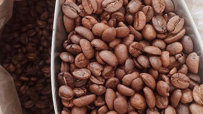 Кофе Бурбон в зерне 100 грамм