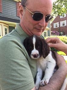 MA with puppy.JPG