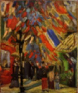 Vincent Van Gogh The fourteenth of july