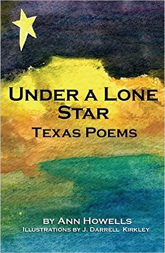 Ann Howells, Under A Lone Star, Texas Poems