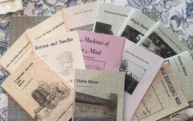 Anthony Watkins chapbooks