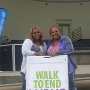 Sherry and Yolanda walking to end Lupus