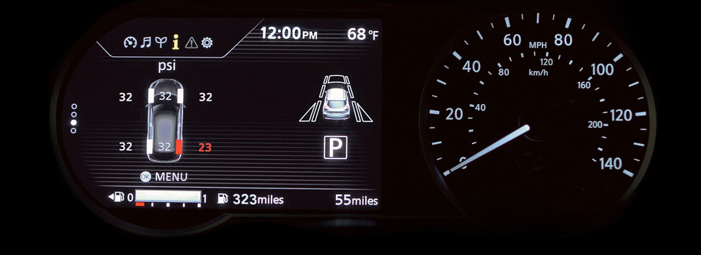 Tire Pressure Monitoring Systyem (TPMS)