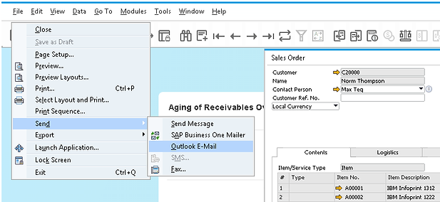Defining E-Mail Signatures in SAP Business One | SAP
