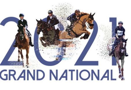 4 cavaliers régionaux font équipe sur le Grand National Dressage 2021 !