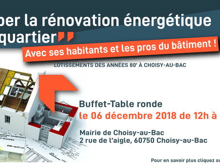 Buffet-Table Ronde à Choisy-au-Bac !
