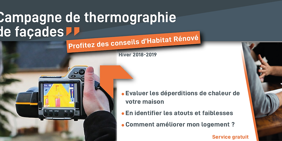 Campagne thermographique de façade