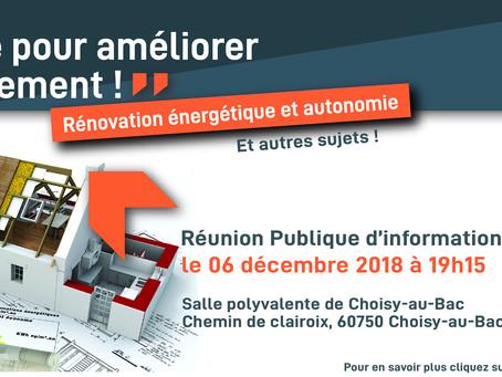 Réunion Publique à Choisy-au-Bac !