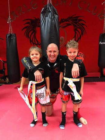 Kinder-Kickboxen Gürtelprüfung
