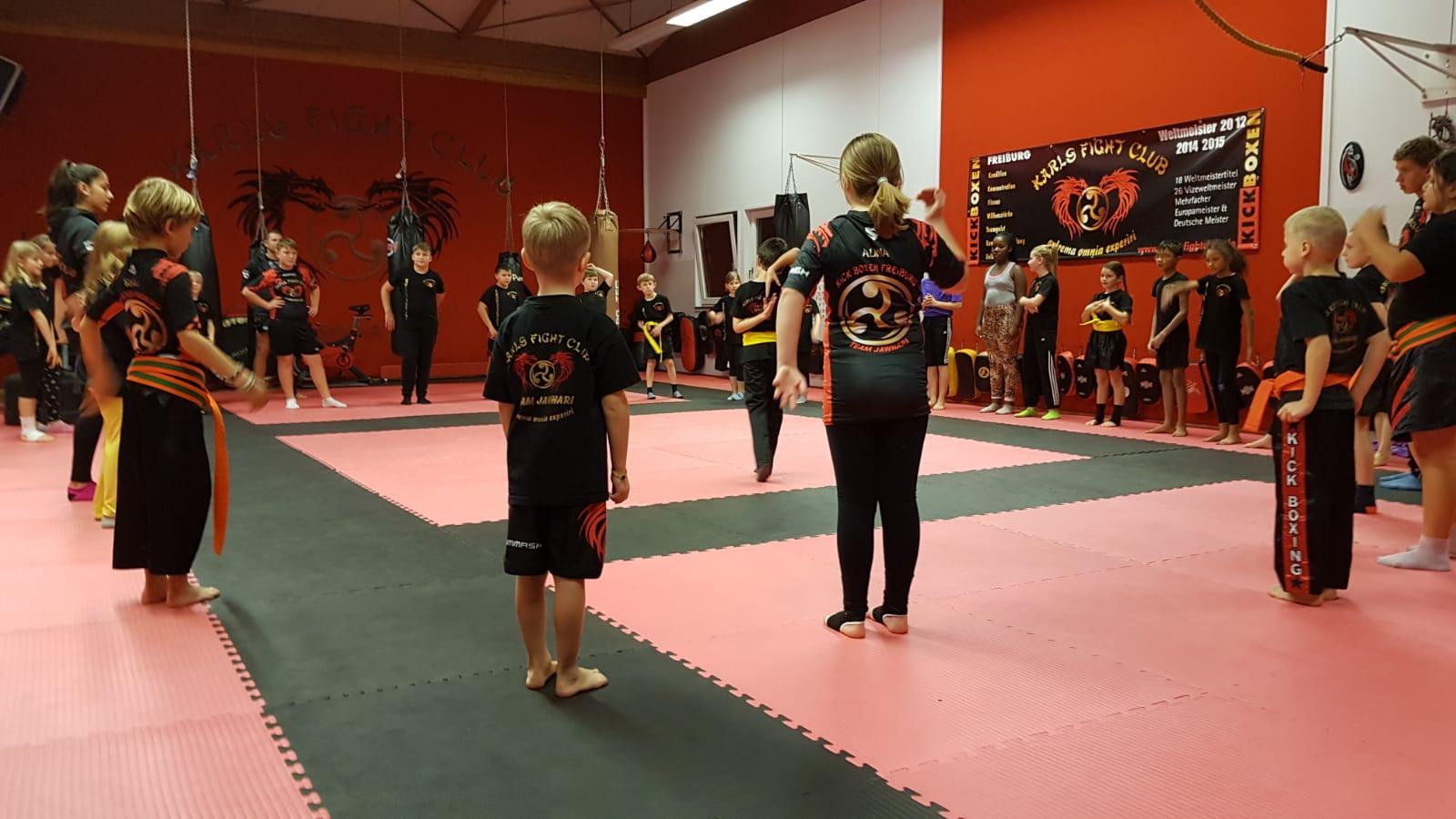 Kinder Kickboxen Freiburg