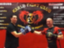 Kixkboxen Probetraining in Freiburg bei Karls Fightclub
