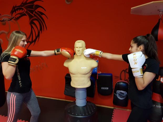 Kickboxen und Frauen in Freiburg