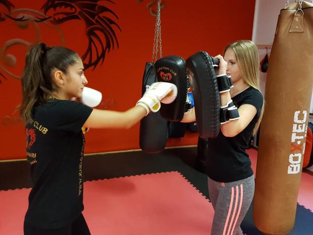 Kickboxen für Frauen in Freiburg