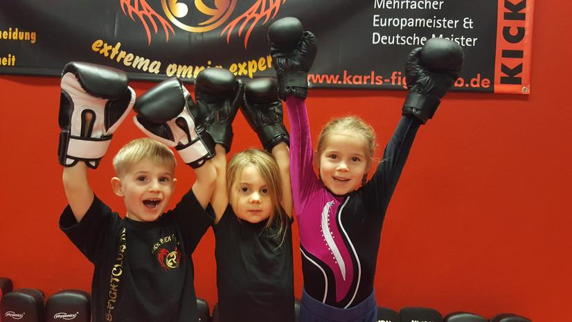 Karls Fightclub, Kinder von 4-6 Jahren