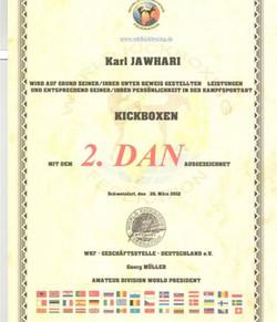 2. Dan Kickboxen