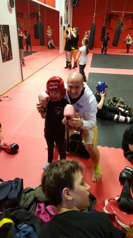 Kickboxen in Freiburg Kinder ab 7 bis 11 Jahre