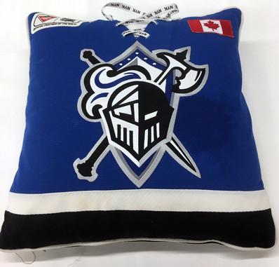 Hockey Jersey Pillow