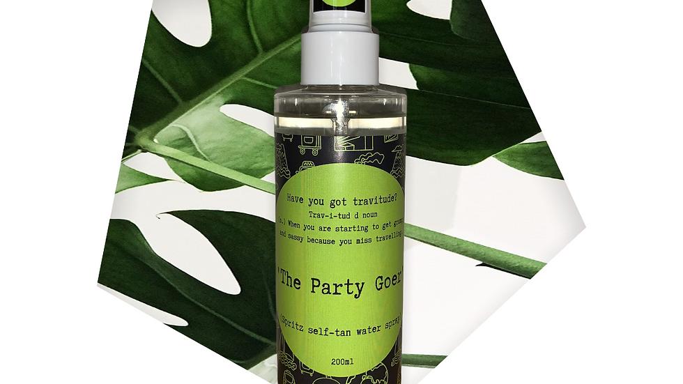 'The Party Goer' spritz self-tan water spray
