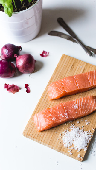 Drizzled On Salmon