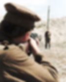 Re-enactment of Execution–Western Front Witness– Shot at Dawn WW1-WW1 Deserters-Court Martial WW1