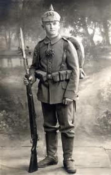 Young Saxon Soldier –Western Front Witness– The Christmas Truce 1914- Christmas Day Truce WW1