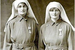 Madonnas of Pervyse–Western Front Witness–Women in WW1-WW1 Nurses-VADs-First Aid Nursing Yeomanry