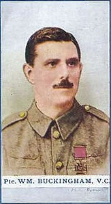 William Buckingham–Western Front Witness– WW1 VC Winners-Victoria Cross Recipients-VC Heroes-VC Recipients