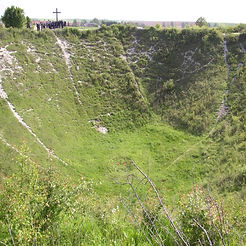 Lochnagar Crater – Western Front Witness - WW1 Battlefields Audio Guide – Somme Witness- WW1 sites to visit