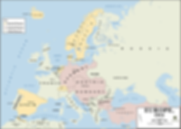 Map of Europe 1914 –Western Front Witness –July Crisis -Causes of WW1 –How Did WW1 Start?- Outbreak of WW1