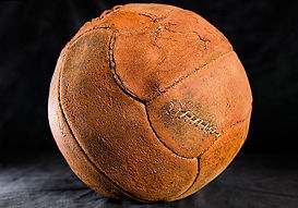 Balls from Christmas Truce 1914–Western Front Witness– WW1 Sporting Contributions-Football Remembers