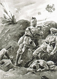 Khudadad Khan VC–Western Front Witness– WW1 VC Winners-Victoria Cross Recipients-VC Heroes-VC Recipients