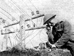 Signals Officer WW1–Western Front Witness–Casualties of WW1-WW1 Heroes-British Casualties WW1