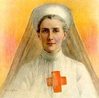 Edith Cavell–Western Front Witness–Women in WW1-WW1 Nurses-VADs-First Aid Nursing Yeomanry