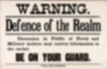 Defence of the Realm Act (DORA)–Western Front Witness–Propaganda in WW1-Censorship in WW1-DORA WW1