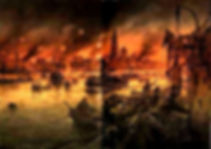 Burning City of Antwerp 1914-Western Front Witness– Race to the Sea Antwerp 1914– British Army WW1