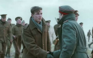 Re-enactment Christmas Day Truce –Western Front Witness– The Christmas Truce 1914- Christmas Day Truce WW1