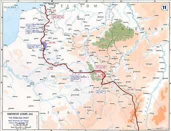 Map WW1 1915 Trench Lines- Western Front Witness–Propaganda in WW1-Censorship in WW1-DORA WW1