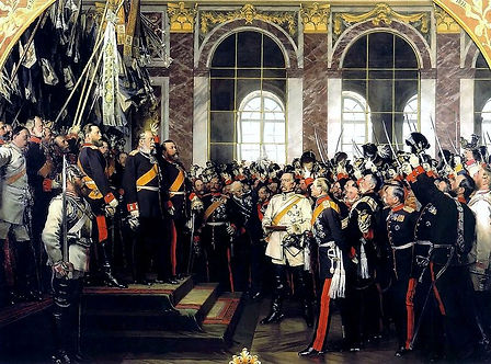 Proclamation of German Empire Palace of Versailles –Western Front Witness –Causes of WW1 –Why Did WW1 Start?- Outbreak of WW1