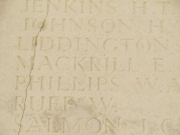 MacKrill Named Thiepval Memorial– Western Front Witness – Complete Last Action Hero soldier research –WW1 Research Service