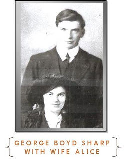 George Boyd Sharp and Wife -Western Front Witness- Sample Last Action Hero soldier research –Search for WW1 soldiers