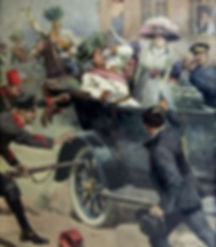 Assassination of Archduke Franz Ferdinand–Western Front Witness -Causes of WW1 –Why Did WW1 Start?- Outbreak of WW1