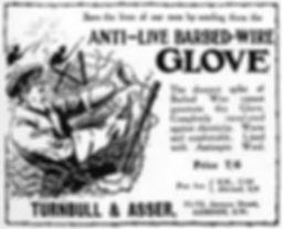 Anti-Live Barbed Wire Gloves–Western Front Witness–Propaganda in WW1-Censorship in WW1-DORA WW1