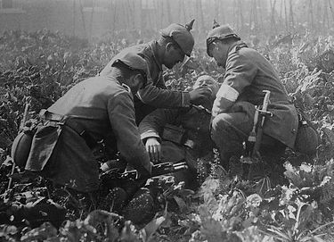 German Casualty November 1914 -Western Front Witness– First Battle of Ypres–Ypres WW1 1914