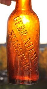 Empty French Bottle of Beer–Western Front Witness– The Christmas Truce 1914- Christmas Day Truce WW1