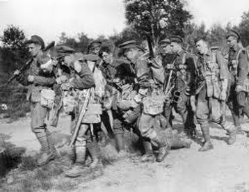 Soldiers Limped on Blood Shod from Mons–Western Front Witness –Retreat from Mons August 1914 –Battle of Mons