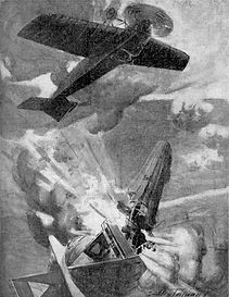 Reginald Warneford Crash Landing–Western Front Witness– WW1 VC Winners-Victoria Cross Recipients-VC Heroes-VC Recipients